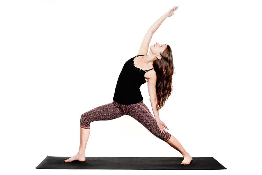 Lahma – Variation on Virabhadrasana II (Reverse Warrior)