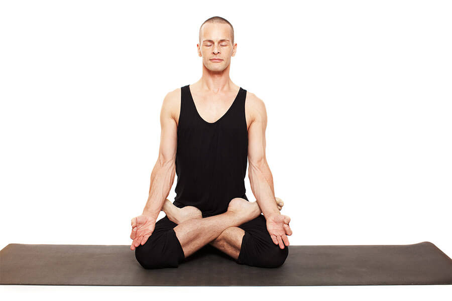 Mark – Padmasana (Lotus pose)
