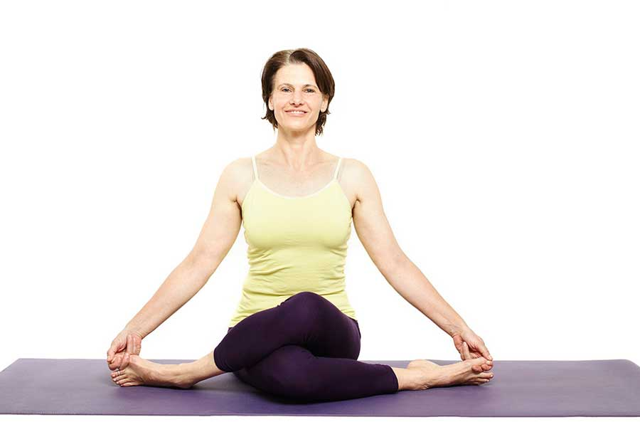 Susan – Gomukasana (Cow face pose)
