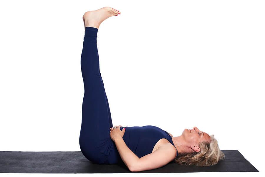 Viparita Karani (inverted posture)