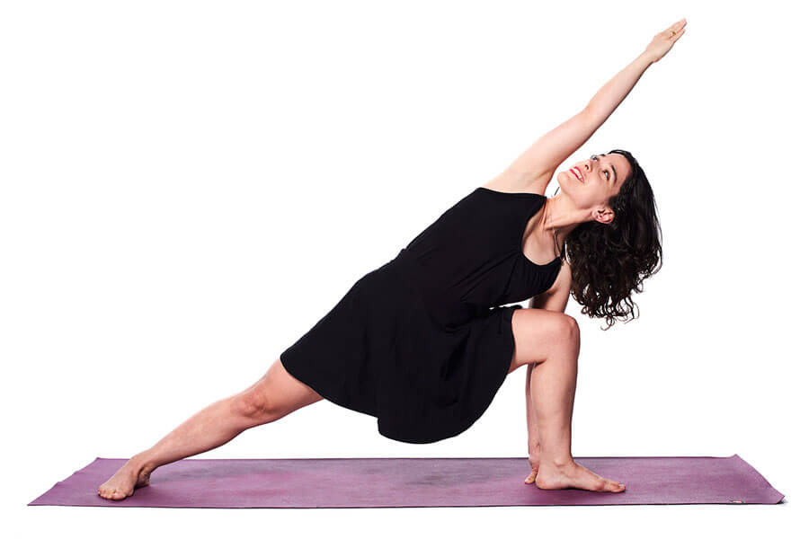 Atalia – Parsvottanasana (Intense Side Stretch pose)