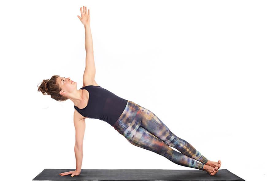 Marieke (M) – Side Plank pose